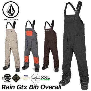 18-19VOLCOMボルコムメンズウェアスノーボードパンツ【RainGtxBibOverall】G1351902予約販売品