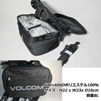 volcomボルコムピクニックバッグ【StoneNosePB】クーラーバッグ保冷バッグクーラーボックスお弁当bagショルダー【メール便不可】