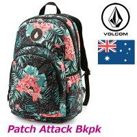 volcomボルコムバックパックPatchAttackBkpkレディースE6541601