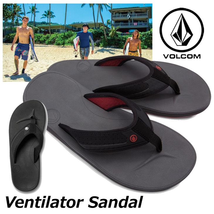 volcom ボルコム ビーチサンダル Ventilator Sandal メンズ ビーサン V0811886 【返品種別OUTLET】