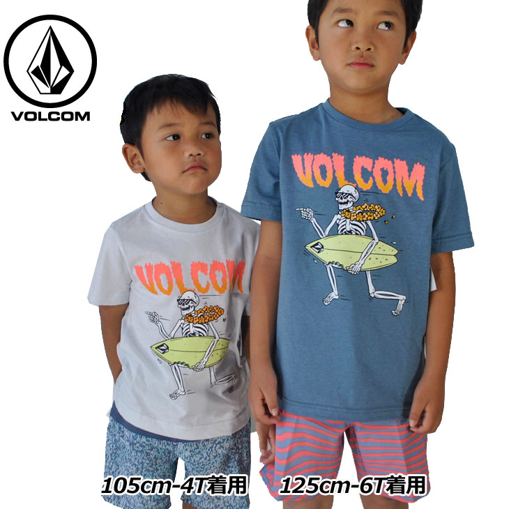 volcom ボルコム キッズ Tシャツ 3-7歳 Stoker S/S Tee Little Youth ユース 半そで Y5711832 【返品種別OUTLET】