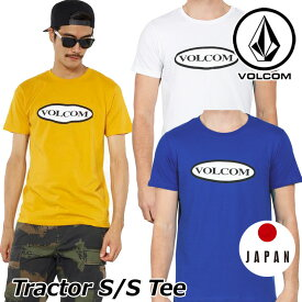 volcom ボルコム tシャツ Tractor S/S Tee メンズ 半袖 japan limited A50118JC 【返品種別OUTLET】
