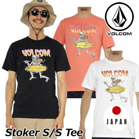 volcom ボルコム tシャツ Stoker S/S Tee メンズ 半袖 japan limited A50118JL 【返品種別OUTLET】