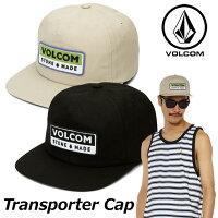 ボルコムキャップvolcomメンズ【TransporterCap】スナップバックVOLCOMCAP帽子【メール便不可】
