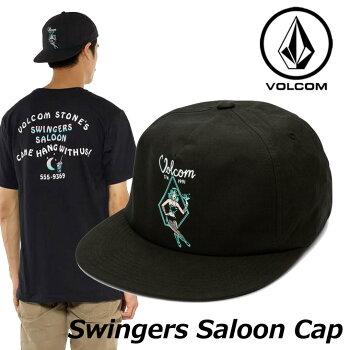 ボルコムキャップvolcomメンズ【SwingersSaloonCap】スナップバックVOLCOMCAP帽子【メール便不可】