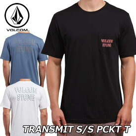 volcom ボルコム Tシャツ Transmit S/S Pckt T メンズ 半袖 A0121801 【返品種別OUTLET】
