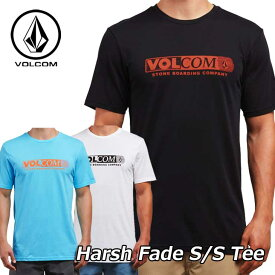 volcom ボルコム Tシャツ Harsh Fade S/S Tee メンズ 半袖 A5021800 【返品種別OUTLET】