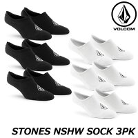 volcomボルコム靴下3足セットSTONESNSHWSOCK3PKソックスD6321803