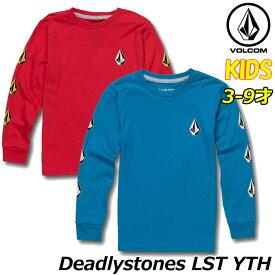 ボルコム volcom キッズ ロンT Deadlystones LST YTH 3-9歳 Y3631702 【返品種別OUTLET】