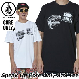 volcom ボルコム tシャツ Speak Up Core Only S/S Tee メンズ 半袖 A35119JB 2019 春 夏 新作 【返品種別OUTLET】