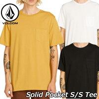 volcomボルコムtシャツSolidPocketS/STeeメンズ半袖A5031808ship1