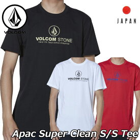 volcom ボルコム tシャツ Apac Super Clean S/S Tee Japanメンズ 半袖 AF511907 2019 春 夏 新作 【返品種別OUTLET】