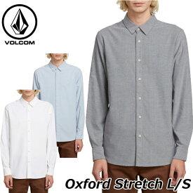 volcom ボルコム シャツ Oxford Stretch L/S メンズ 長袖 A05118012019 春 夏 新作 【返品種別OUTLET】