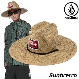volcom ボルコム 麦わら帽子 Sunbrerro メンズ D5511915 【返品種別OUTLET】