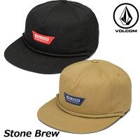 ボルコムキャップvolcomメンズStoneBrewスナップバックD5511909帽子ship1