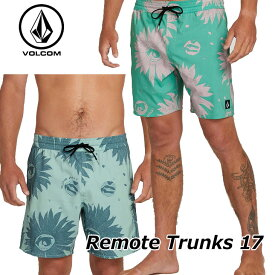 volcom ボルコム サーフパンツ Remote Trunks 17メンズ 海パン A2521902【返品種別OUTLET】