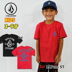ボルコム キッズ Tシャツ volcom KIDS Big Outline S/S Tee 半袖 3-7歳 幼児 Little Youth Y3521902