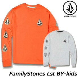 volcom ボルコム キッズ ロンT Familystones Lst BY 8-14歳 C3631907 【返品種別OUTLET】