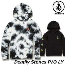 volcom ボルコム キッズ パーカー Deadly Stones P/O LY 3-7歳 Y4131907 【返品種別OUTLET】