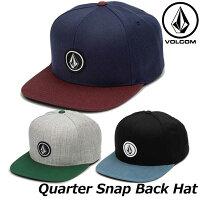 ボルコムVOLCOMCAPQuarterSnapBackHat帽子D5511561ship1