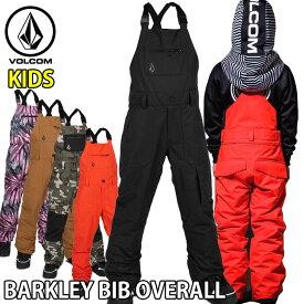 19-20 ボルコム VOLCOM キッズ BARKLEY BIB OVERALL ベーカリービブパンツ I1252000 予約販売品 ship1