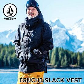 19-20 ボルコム VOLCOM IGUCHI SLACK VEST イグチスラックベスト G0652001 予約販売品 ship1