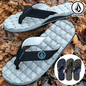 ボルコム VOLCOM メンズ ビーチサンダル Recliner Sandal V0811520 【返品種別OUTLET】