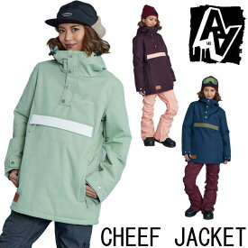 19-20 AA ダブルエー レディース ウェアー 【CHEEF JACKET 】チーフ ジャケット スノーボード SNOW WEAR 入荷済み ship1