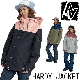 19-20 AA ダブルエー レディース ウェアー 【HARDY JACKET 】ハーディー ジャケット スノーボード SNOW WEAR 入荷済み ship1
