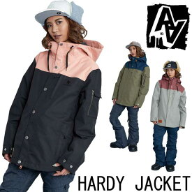 19-20 AA ダブルエー レディース ウェアー 【HARDY JACKET 】ハーディー ジャケット スノーボード SNOW WEAR ship1【返品種別OUTLET】