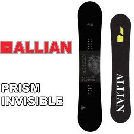 20-21 ALLIAN アライアン スノーボード 板 PRISM INVISIBLE プリズム インビシブル ship1