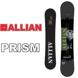 20-21 ALLIAN アライアン スノーボード 板 PRISM プリズム ship1