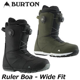 19-20 BURTON バートン メンズ ブーツ 【Ruler Boa Wide fit 】 【日本正規品】 ship1【返品種別OUTLET】