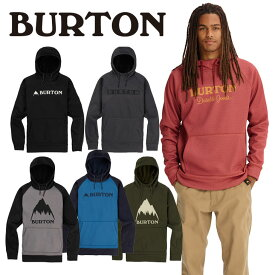 18-19 BURTON バートン 撥水 パーカー MENS 【Burton Crown Bonded Pullover Hoodie 】 日本正規品【返品種別OUTLET】