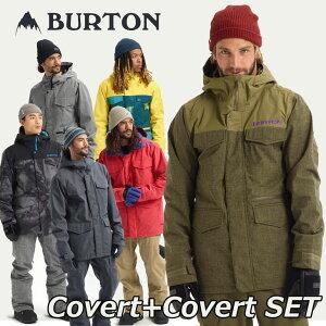 19-20 BURTON バートン メンズ スノーボード ウエア 上下セット 【Covert 】JACKET+【Covert 】PANT ship1 【返品種別OUTLET】