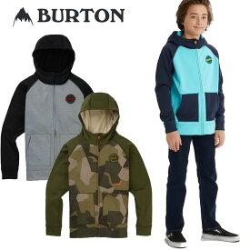 19-20 BURTON バートン キッズ 撥水 パーカー Boys 【Burton Crown Bonded Full-Zip Hoodie 】(110/126/140/150/164) 日本正規品【返品種別OUTLET】