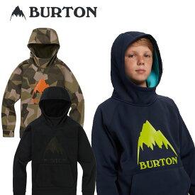 19-20 BURTON バートン キッズ 撥水 パーカー Boys 【Burton Crown Bonded Pullover Hoodie 】(110/126/140/150/164) 日本正規品【返品種別OUTLET】