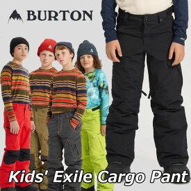 19-20 BURTON バートン キッズ スノーボード パンツ Kids【Exile Cargo Pant 】(110/126/140/150/164) 日本正規品【返品種別OUTLET】