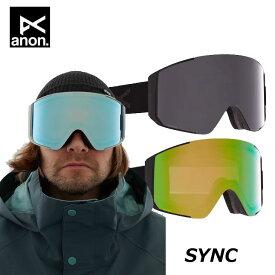 20-21 ANON アノン ゴーグル Sync シンク スペアレンズ付き Goggle Asian Fit メンズ/レディース ship1【返品種別OUTLET】