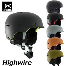 19-20 ANON アノン メンズ ヘルメット Highwire ハイワイヤー Helmet Anon ship1【返品種別OUTLET】