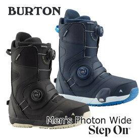 19-20 BURTON バートン ステップオン ブーツ Mens メンズ Photon Wide Step On Snowboard Boot 【日本正規品】【返品種別OUTLET】 ship1
