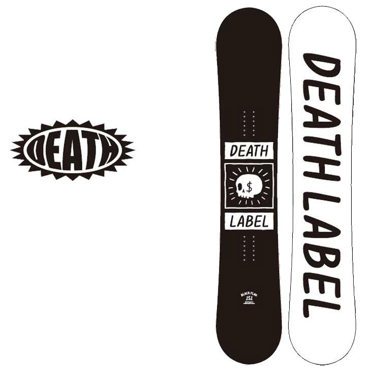 18-19 DEATH LABEL ( デスレーベル )【BLACK FLAG 】 ブラックフラッグ スノーボード 板 snow board 予約販売品
