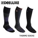DEELUXE(ディーラックス)サーモソックス 18-19 【THERMO SOCKS 】ノーマル】 スノーボード ソックス 靴下