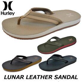 HURLEY ハーレー メンズ ビーチサンダル JJF LUNAR LEATHER SANDAL (AR4006)