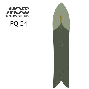 21-22 MOSS SNOWSTICK モス スノースティック パウダーボード【PQ54 】 予約販売品 11月入荷予定 ship1