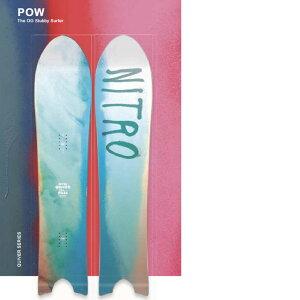 20-21 NITRO ナイトロ スノーボード 板 QUIVER POW ship1【返品種別OUTLET】