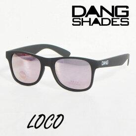 ダンシェイディーズ サングラス 国内正規取扱 DANG SHADES LOCO ロコ vidg00336ダン・シェイディーズ sunglasses UVカット ミラーレンズ