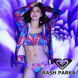 ROXY ロキシー レディース ラッシュガード パーカー M/mika ninagawa RASH PARKA (RLY192005) 【返品種別OUTLET】