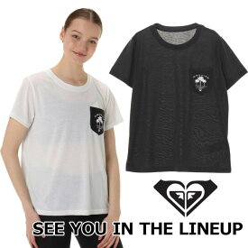 ROXY ロキシー ラッシュガード 半袖 レディース UVカット ラッシュ Tシャツ SEE YOU IN THE LINEUP (RLY191025) 2019春夏【返品種別OUTLET】