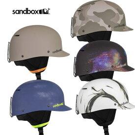 21-22 SANDBOX SNOW ヘルメット CLASSIC 2.0 SNOW ASIA FIT ベースボールキャップスタイル 予約販売品 11月入荷予定 ship1